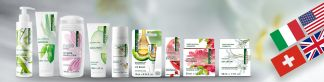 naturaline Swiss cosmetics is an international brand.