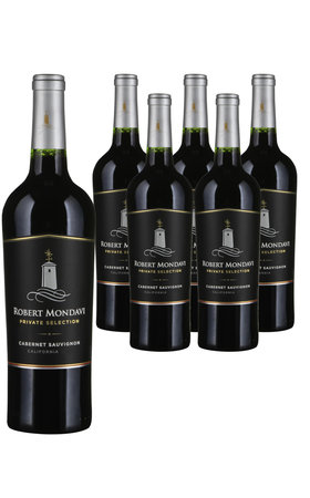 Wine & Sparkling Wine - Cabernet Sauvignon California Robert Mondavi Private Selection 6x  75cl
