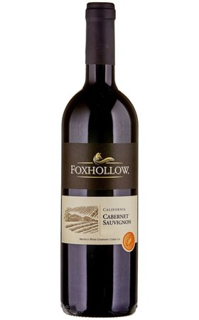 Vins rouges - Cabernet Sauvignon California Foxhollow