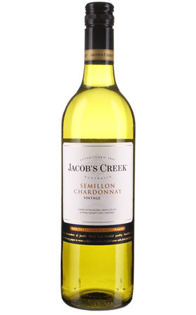 Vins blancs - Semillon/Chardonnay Australia Jacob's Creek
