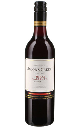Red Wines - Jacob's Creek Shiraz Cabernet classic South Eastern Australia