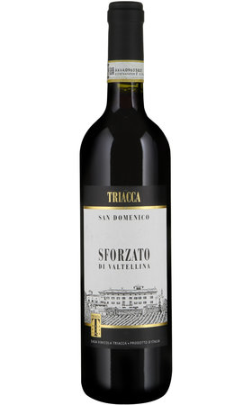 Red Wines - Sforzato di Valtellina DOCG San Domenico Triacca