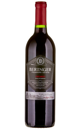 Red Wine - Zinfandel California Beringer Founders' Estate