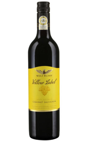Red Wines - Wolf Blass Yellow Label Cabernet Sauvignon