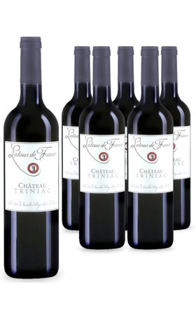 Red Wines - Côtes du Roussillon Villages AOP Château Triniac Latour de France 6x  75cl