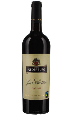Rotwein - Fairtrade Nederburg Fair Selection Pinotage