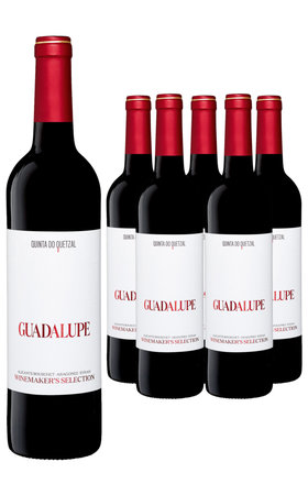 Vini Rosso - Vinho Regional Alentejano Guadalupe Winemakers Selection Quinta do Quetzal 6x  75cl