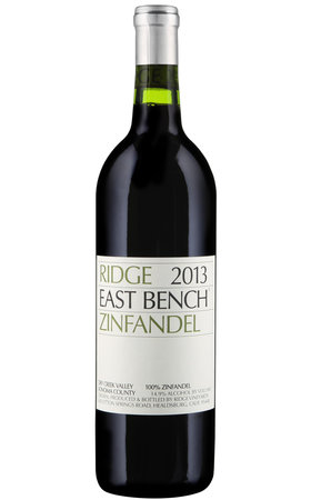 Red Wine - Zinfandel CA East Bench Ridge