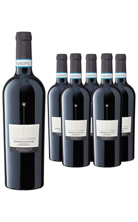 Red Wines - Aglianico del Vulture DOC Piano del Cerro 6x  75cl