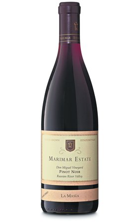 Vins rouges - Pinot Noir Russian River Valley La Masía Marimar Estate