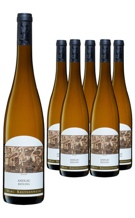 White Wine - Alsace AOC Riesling Andlau Domaine Marc Kreydenweiss 6x  75cl
