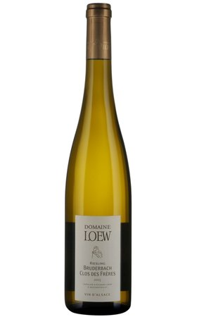White Wines - AOC Alsace Riesling, Bruderbach Clos des Frères, Domaine Loew