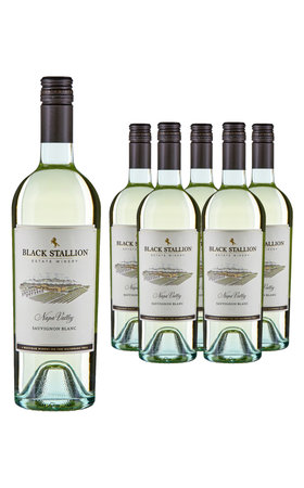 Vins blancs - Sauvignon Blanc Napa Valley Black Stallion 6x  75cl