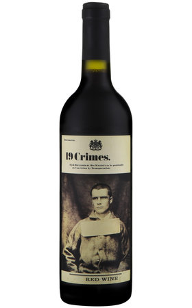 Red Wine - 19 Crimes Red Wine South Australia