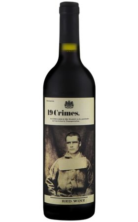 Red Wines - 19 Crimes Red Wine South Australia