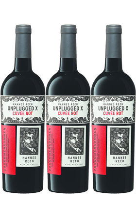 Red Wines - Cuvée X Unplugged Burgenland Hannes Reeh 3x  75cl