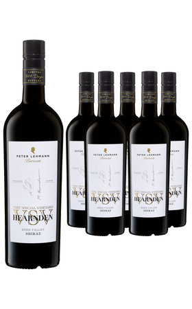Red Wines - Shiraz Barossa Valley VSV Hearnden Peter Lehmann 6x  75cl