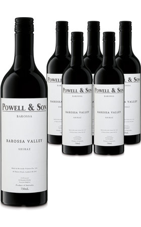 Rotwein - Shiraz Barossa Valley Powell & Son 6x  75cl