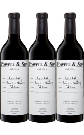 Red Wines - Shiraz Loechel Barossa Valley Powell & Son 3x  75cl
