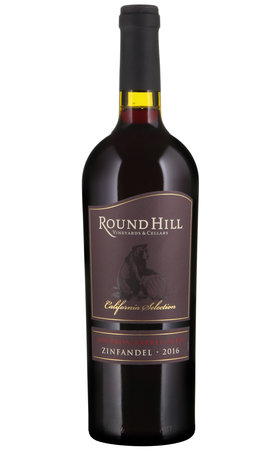 Vins rouges - Zinfandel Bourbon Barrel Aged California Round Hill