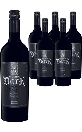 Vins rouges - Apothic Dark California Red Blend 6x  75cl