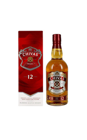 Blended Whisky - Chivas Regal Premium Scotch Whisky 12 Years