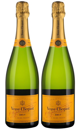 Champagne - Champagne Veuve Clicquot Yellow Label Brut 2x  75cl