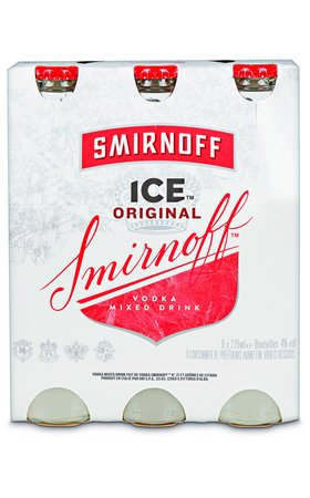 Cocktails - Smirnoff Premium Ice 6x27.5cl