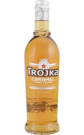 Vodka - Trojka Caramel Vodka Liqueur
