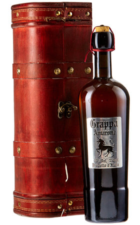 Fruit Spirits - Grappa Amarone with Wood Case