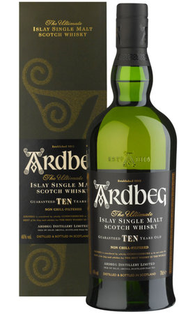 Schottland Islay - Ardbeg Single Malt Whisky 10 Years