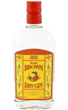 Gin - Dry Gin Earl Brown