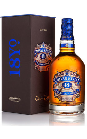 Blended Whisky - Chivas Regal Scotch Whisky 18 Years