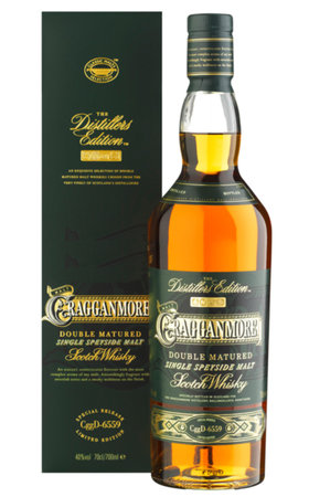 Schottland Speyside - Cragganmore Single Speyside Malt Double Matured Distillors Edition