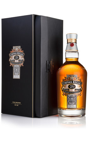 Blended Whisky - Chivas Regal Scotch Whisky 25 Years