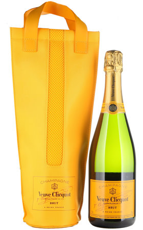 Champagnes - Champagne AOC Veuve Clicquot brut Yelllow Shopping Bag