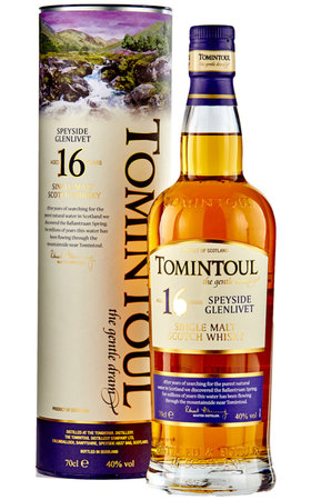 Schottland Speyside - Tomintoul Single Malt Scotch 16 Years