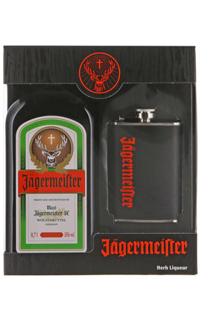 Aperitifs - Jägermeister with Hip Flask