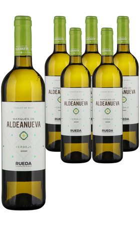 White Wines - Rueda DO Verdejo Marques de Aldenueva