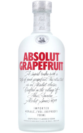 Vodka - Absolut Vodka Grapefruit