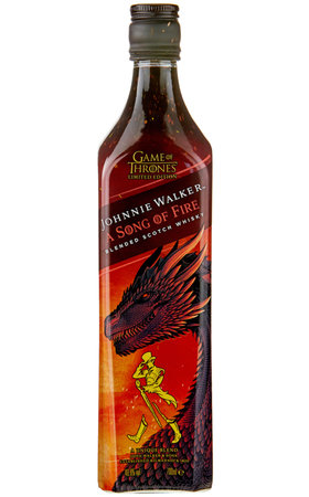 Blended Whisky - Johnnie Walker Song of Fire Whisky