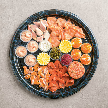 Fish platters - Gourmet Assorted Fish for Fondue