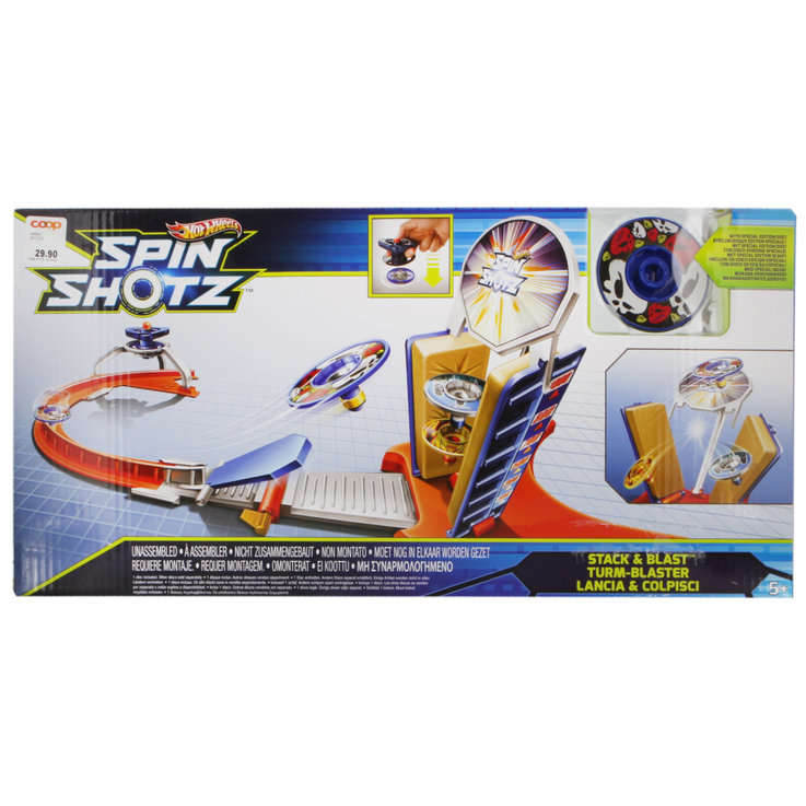 Cars & Vehicles - Hot Wheels Spinshotz Stack & Blast