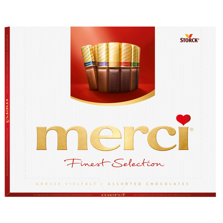 Chocolate Gifts - Merci Finest Selection Chocolates