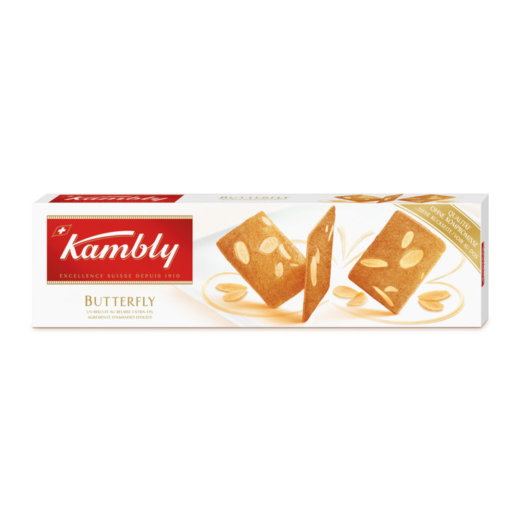 Biscuits sablés - Kambly Biscuits Butterfly