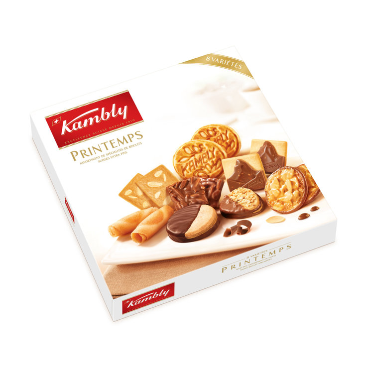 Assortiment de biscuits - Kambly Biscuits assortis Printemps