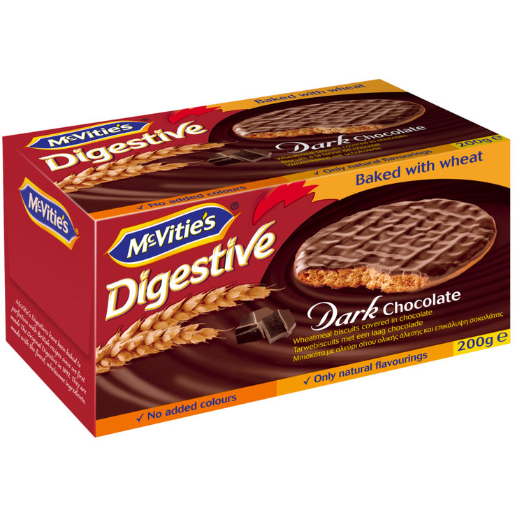 Chocolate Covered - McVitie's Dark Chocolate Digestive Biscuits