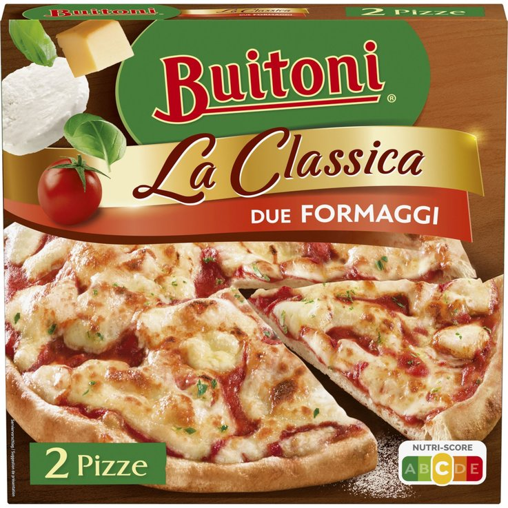 Pizza - Buitoni La Classica Duo Formaggi 2 Pieces