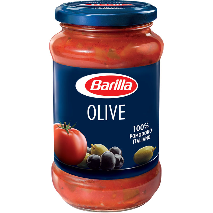 Vegetable Tomato Sauce - Barilla Tomato Sauce with Olives