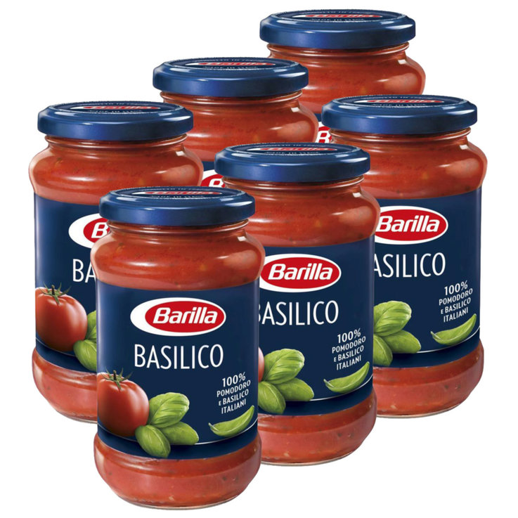 Vegetable Tomato Sauce - Barilla Tomato Sauce with Basil 3x  400g